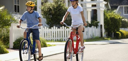 Tips for teaching your children to ride a bicycle: